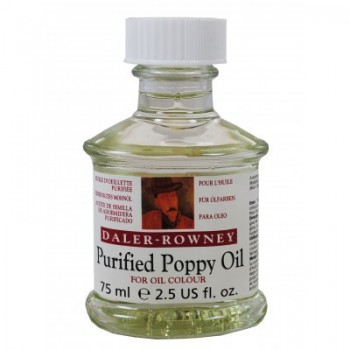Daler Rowney Purified Poppy Oil 75ml